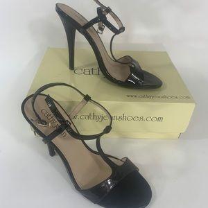 Cathy Jean Womens Size  8 Heels Black